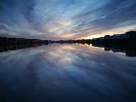 Docklands Sunset II by Softspoken-One