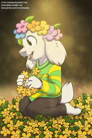 Asriel: The Sweetest Prince by Circus-Cinnamon