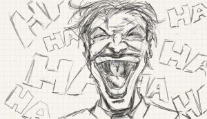 Joker Sketch by Photographical