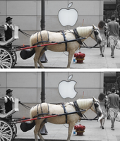 How the Apple logo was created by mukismukis
