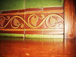 Lining of the floor by VirginiaRoundy