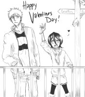 IchiRuki Valentine by BleachcakeCosplay