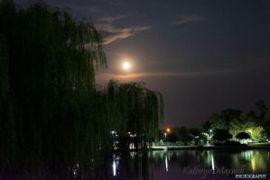Lake by Moonlight by KattyMax