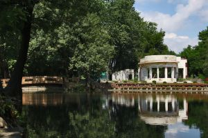 Small Lake In City Park by dardaniM