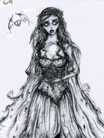 Corpse Bride by aliceuramushroomhead