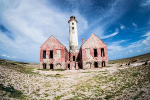 Klein Curacao Abandoned Lighthouse by ssabbath