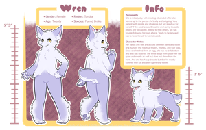 Wren Reference (OUT OF DATE, see description) by Trickitt