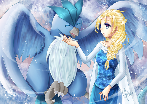 Fascination of Ice by Yenni-Vu