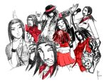 Medley of Personalities by Dcreativ