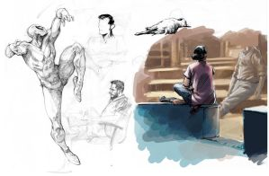 sketchdump 5 by Sumit92artist