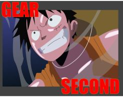 Luffy Gear Second by TelphyuS