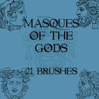 Masques of the Gods by rL-Brushes