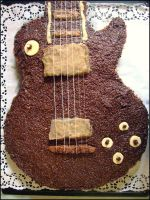 Les Paul Gibson Cake II by gnrg