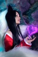 Ahri Lol Cosplay by shproton