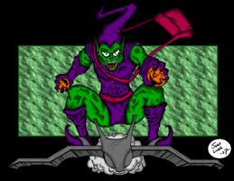 Green Goblin by JohntheSilver
