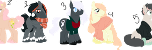 Staillion Adopts ( 2 / 5 OPEN ) by ghostiibear