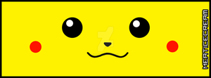 Pickachu Facebook Timeline Cover by Meat-ice-cream
