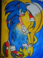Sonic Prologue by Artraver