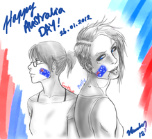 Happy Australia Day by waterpieces