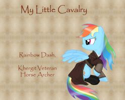 My Little Cavalry-Rainbow Dash by Nimbostratus