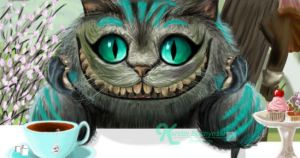 Cheshire Cat by Sketchylious