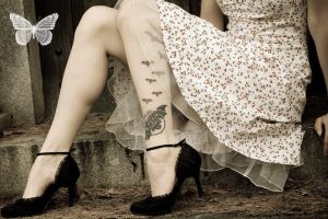 Graveyard Ink by SilentButterflyPhoto