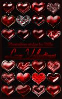 "Photoshop styles ""Love Valentines"" by DiZa-74"