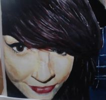 Portrait in oils by BeckynessArt