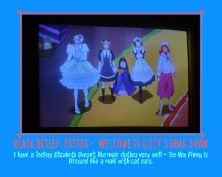 Black Butler Servants - Welcome To Lizzy's Party! by AnnieSmith