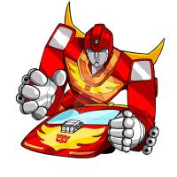 Transformers: Hot Rod: Color by Sideways8Studios