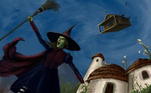Wicked Witch of the East (Wizard of Oz part 2) by epletz