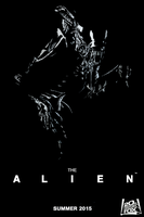 The Alien Movie Poster by JohnnyFive81