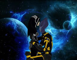 The Story of the Salarian Spectre and Master Thief by Ngoc12