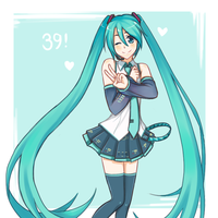 Happy Miku Day! by lolitaii