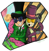 Back to Back by capcappucca222