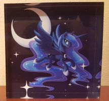 Princess Luna (acrylic-block) by cedricc666