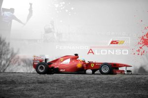 Alonso Wallpaper 2011. by Otani5