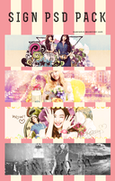 21052013 SIGN PSDs PACK by HwangMin