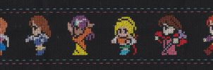 8-Bit Pirated RPG Heroines by missy-tannenbaum