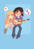 Let me /Rhi/chu a love song by Little-Miss-Boxie
