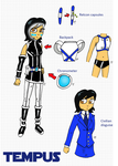 Tempus Character Design by JohnnyFive81