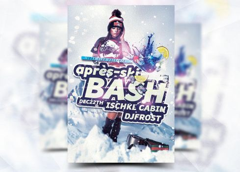 Apre-Ski Flyer Template by Flyermarket