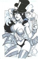 Zatanna by Eduardo Nunez by integralsmatic