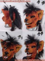 Red XIII version 2 - WIP 2 by Beetlecat