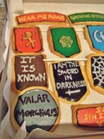 Game of Thrones Sugar Cookies Pt. 3 by Stephanefalies