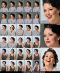 Coco 30 Retro Portraits and Expressions Stock by ArtReferenceSource