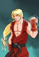 Ken By Hanzozuken colored by Absalom7