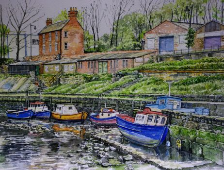 River Ouseburn, Newcastle by jeffsmith1955