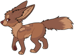 Brown Fennec: sold to alunaa by SweetMelony