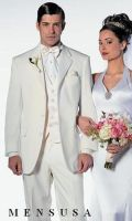 Lorioano Ivory Off Cream Mens Notch Laple Tuxedo s by mensusasuits